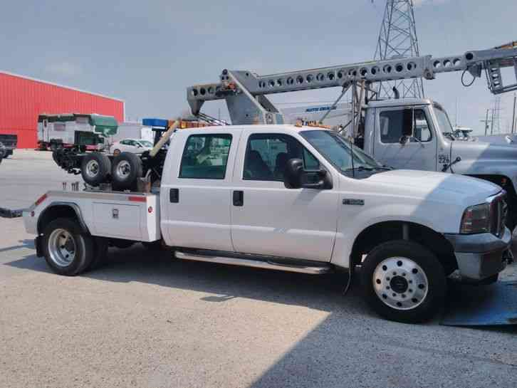 Ford F550 Crewcab 4x4 2001 Wreckers