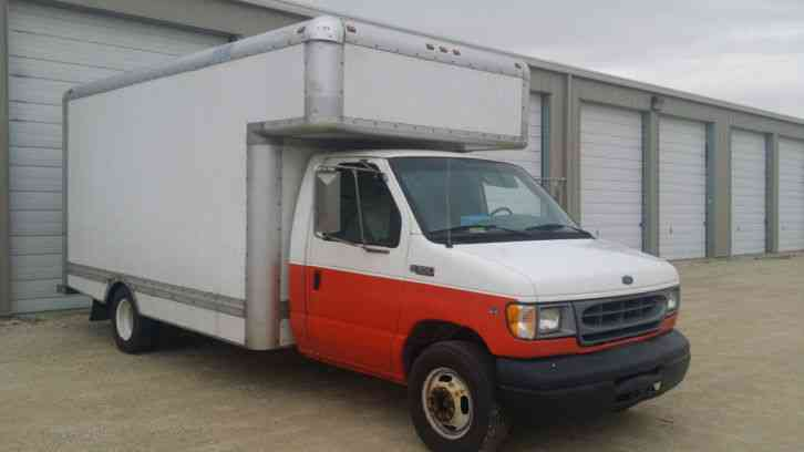 Ford Cutaway Box Truck 2000 Van Box Trucks