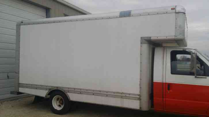 Old Pickups For Sale >> FORD CUTAWAY / box truck (2000) : Van / Box Trucks
