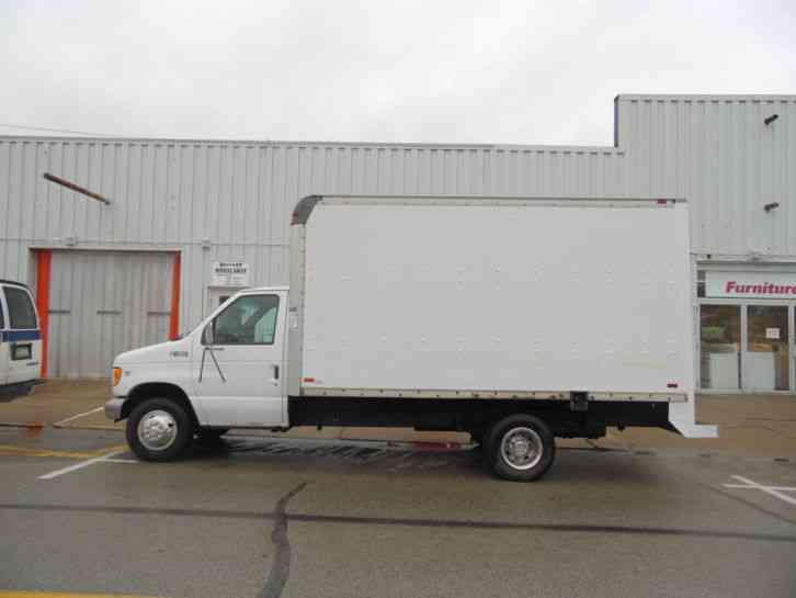 Ford E 450 Super Duty Delivery Van 16 Foot Box Truck 2001