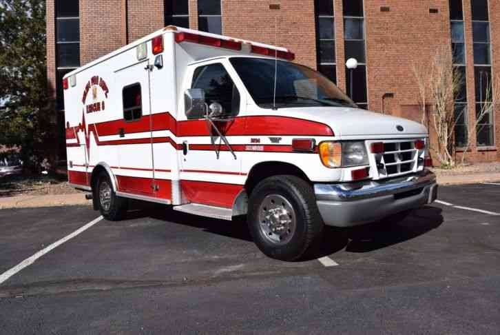 Ford Moduvan 2001 Emergency Fire Trucks