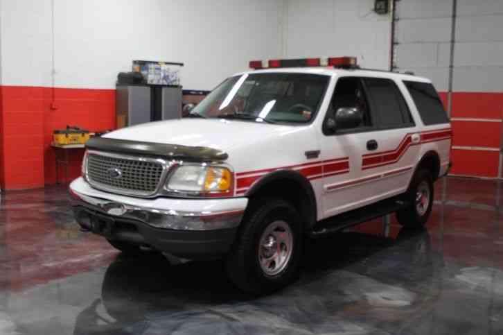 ford expedition xlt 2001 emergency fire trucks. Black Bedroom Furniture Sets. Home Design Ideas