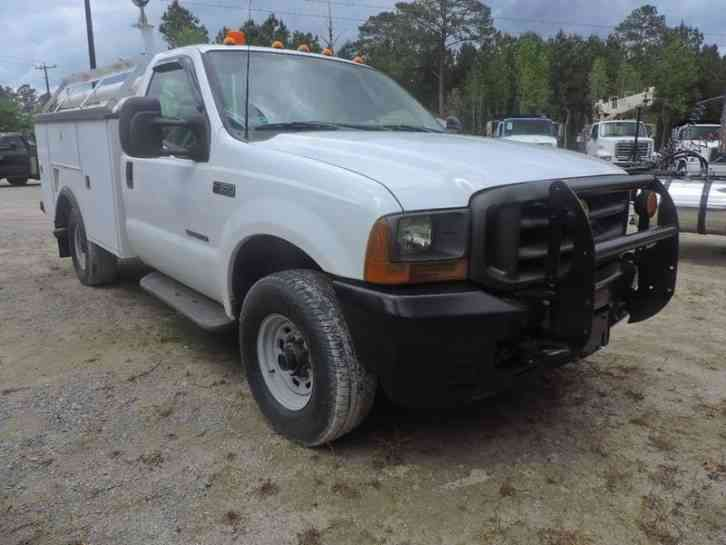 Ford F-350 Super Duty Service Truck (2001)