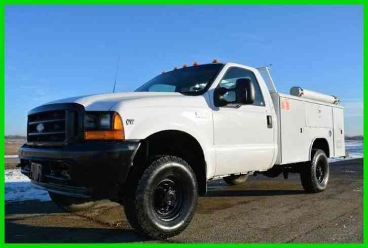 ford f 350 chassis 2001 utility service trucks. Black Bedroom Furniture Sets. Home Design Ideas