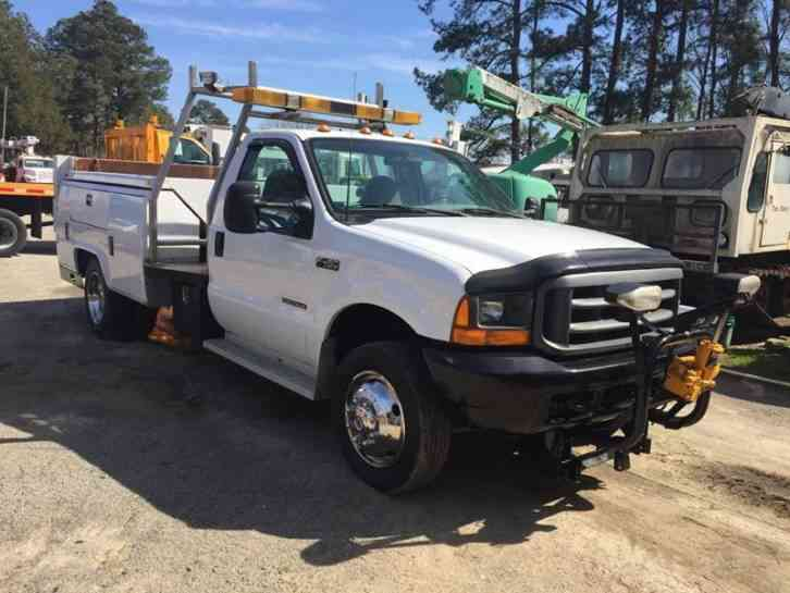 Ford F-450 Dump/Service Truck (2001)