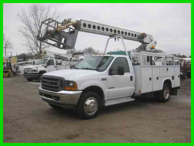 FORD F450 7. 3L DIESEL AUTO WITH TELSTA EU32CM CABLE PLACER (2001)