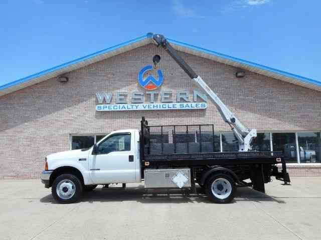 Crane Truck For Sale >> Ford Crane Truck 2001 Utility Service Trucks