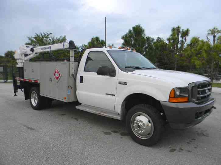 F550 Towing Capacity >> Ford F550 Superduty (2001) : Utility / Service Trucks