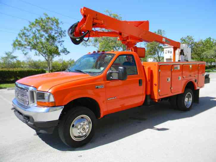 Ford F550 Super Duty (2001)