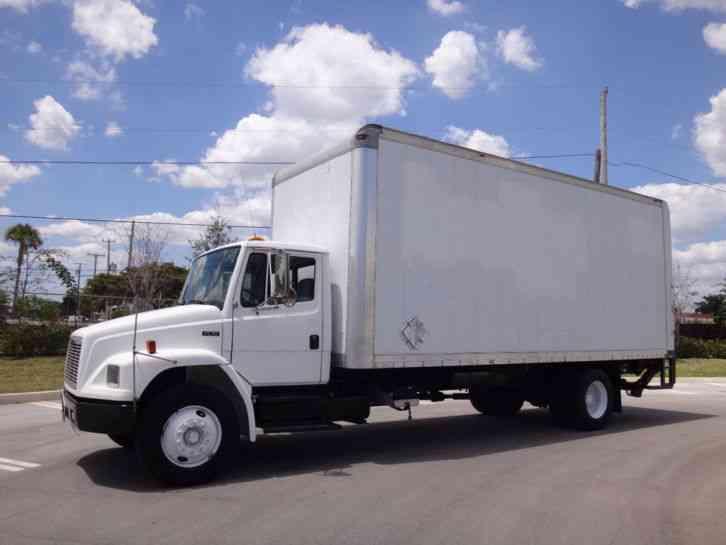 Freightliner Fl70 22 Box Truck 2001 Van Box Trucks
