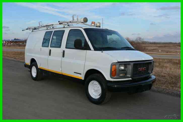gmc savana cargo 2001 van box trucks gmc savana cargo 2001 van box trucks