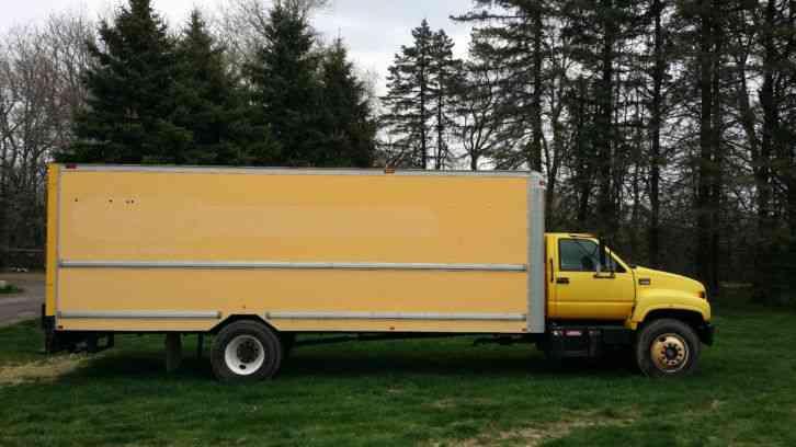 gmc c6500 (2001) van box trucks GMC Dump Truck sale price us $7,000 00