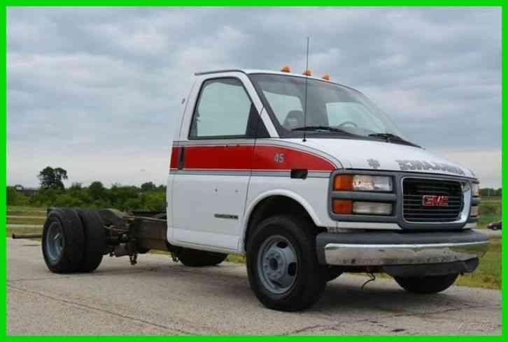 gmc savana cutaway 2001 utility service trucks jingletruck com