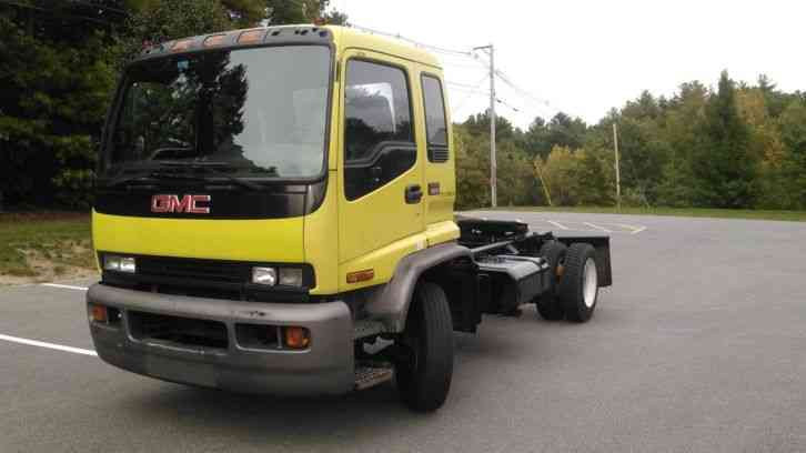 2001 Gmc T6500 Cab 50928 on gmc 8500 trucks
