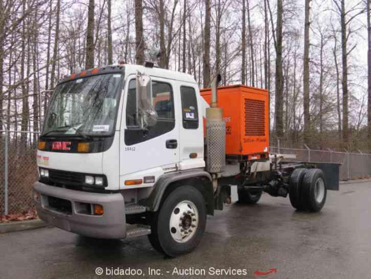 gmc t8500 2001 medium trucks rh jingletruck com GMC T8500 Tandem GMC Tt850 Fixed Pump Truck