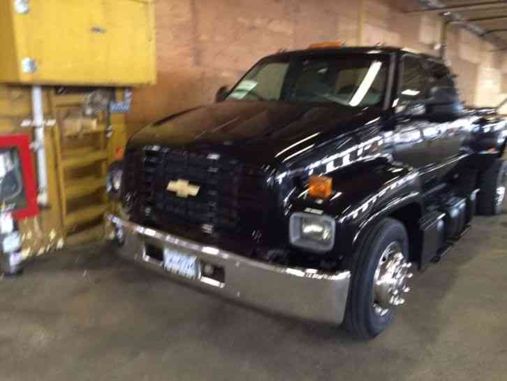 Gmc Top Kick C 6500 Crew Cab Pick Up 2001 Light Duty