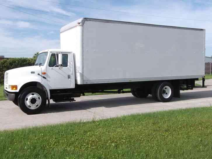 Isuzu Npr 2010 Van Box Trucks