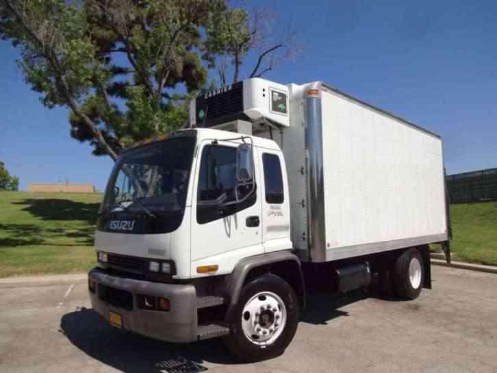 Isuzu Thermoking T800 R Reefer Unit 2001 Utility Service Trucks