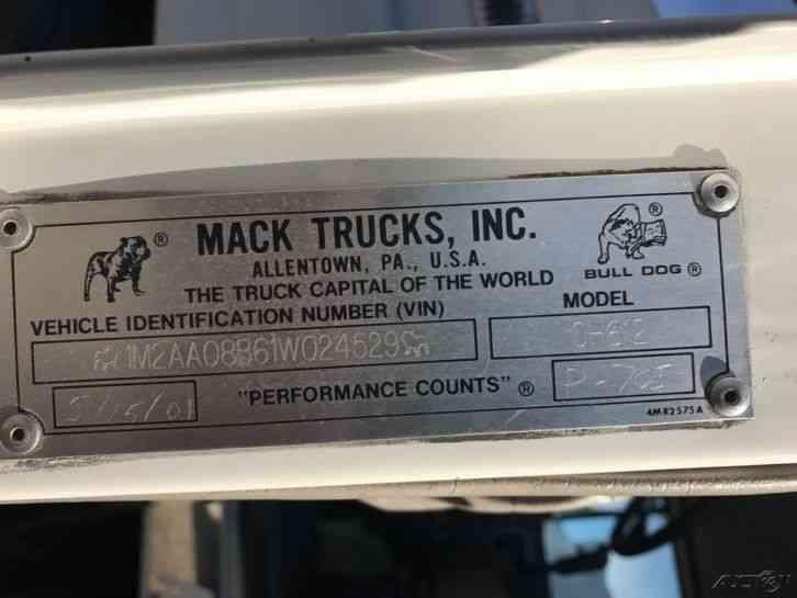 mack ch 600 service manual