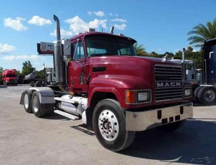 Mack Truck Wet Kit : Mack ch daycab semi trucks