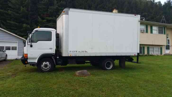 Nissan Ud Box Truck 2001 Van Box Trucks