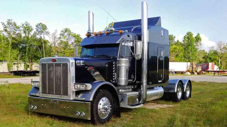 Led Lights For Semi Trucks >> Peterbilt 379 EXHD (2001) : Sleeper Semi Trucks