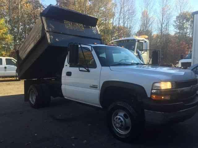 Dump Trucks For Sale In Nc >> Chevrolet 3500 (2002) : Medium Trucks