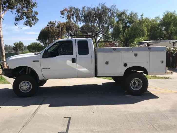 ford f350 2002 utility service trucks. Black Bedroom Furniture Sets. Home Design Ideas