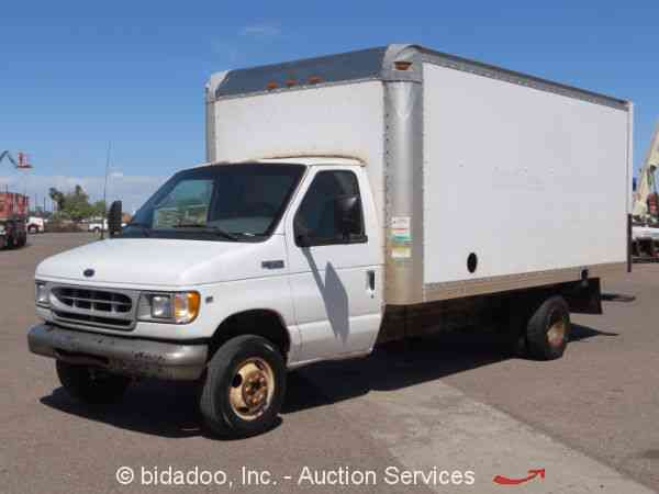 ford e350 2002 van box trucks. Black Bedroom Furniture Sets. Home Design Ideas