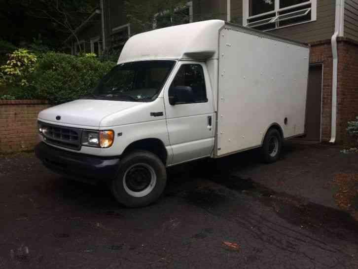 2002 ford e350 box truck