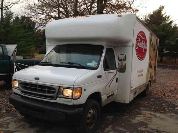 Ford Econoline Truck >> Ford E-450 17 FOOT BOX TRUCK (2002) : Van / Box Trucks