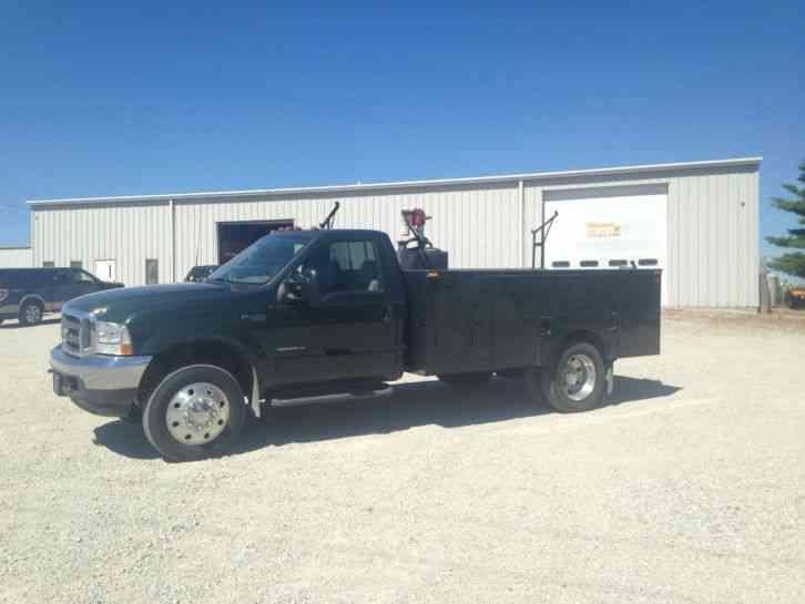 Trucks Plus Omaha >> Ford F-450 XLT (2002) : Utility / Service Trucks
