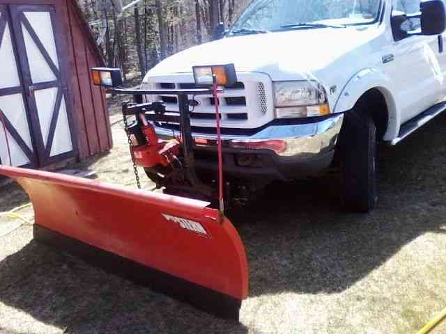 Plow Trucks For Sale >> Ford F25o Extended Cab Plow Truck 2002 Utility Service
