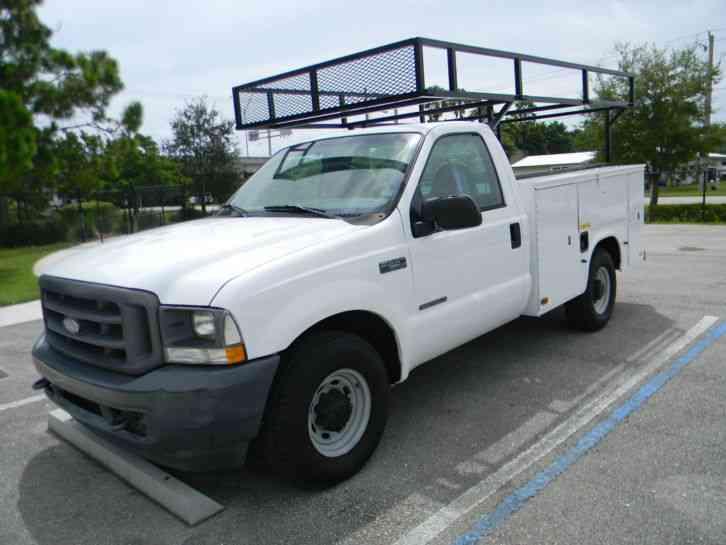 Ford F250 Super Duty 2002 Utility Service Trucks