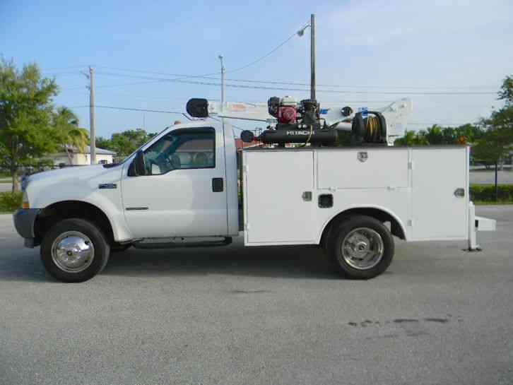 Ford Powerstroke For Sale >> Ford F450 Superduty (2002) : Utility / Service Trucks