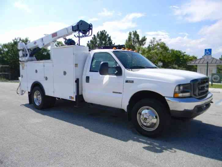 Ford F550 Super Duty 2002 Utility Service Trucks