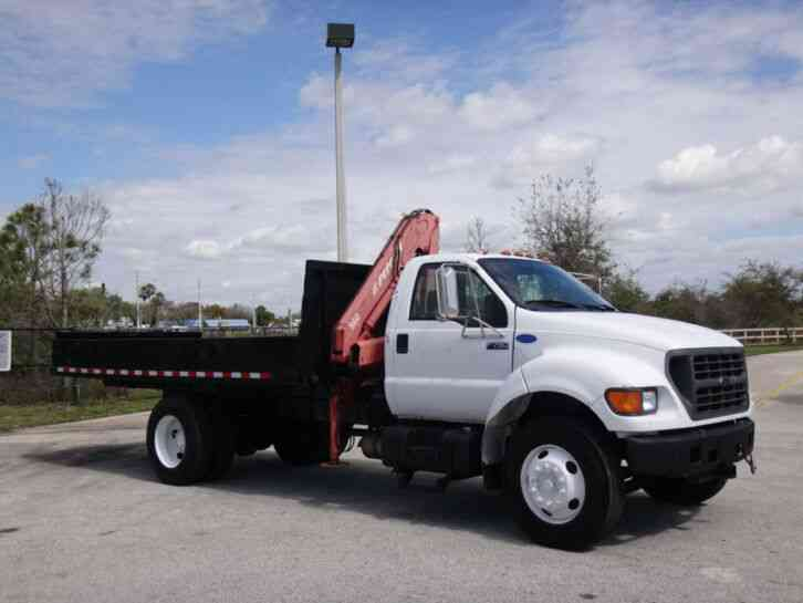 Ford F-750 Super Duty Knuckleboom (2002)