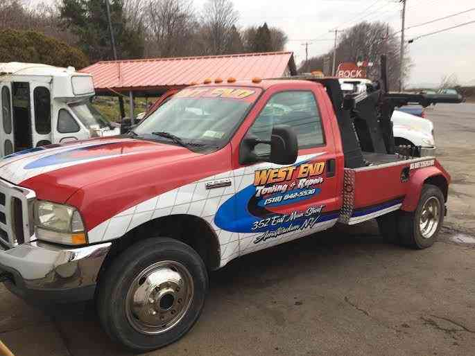 Ford Tow Truck F550 4x4 2002 Wreckers