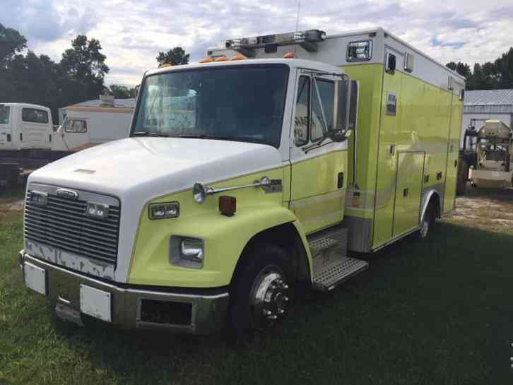 Freightliner Fl50 Ambulance 2002 Emergency Amp Fire Trucks
