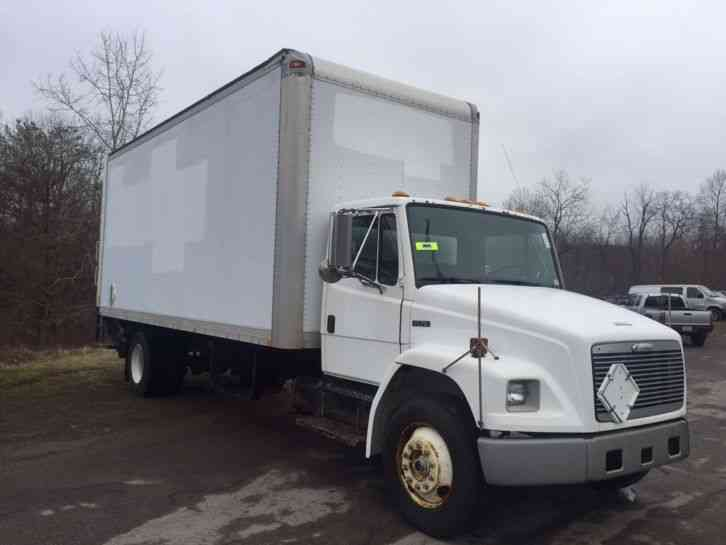 Freightliner Fl70 2002 Van Box Trucks