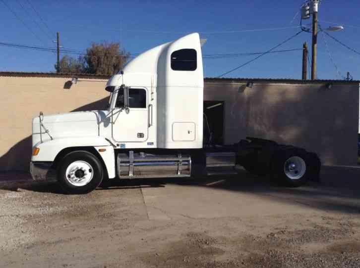Fld 120 Freightliner Semi Truck : Freightliner fld  sleeper semi trucks