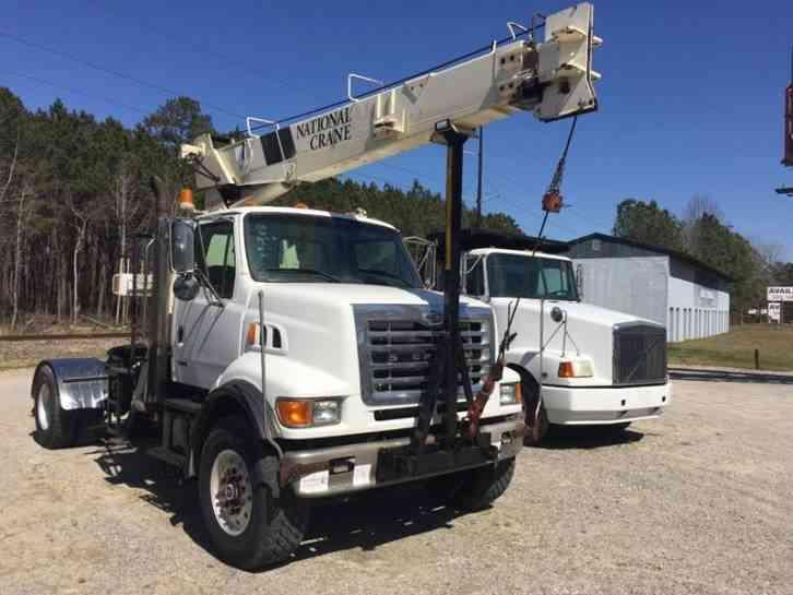 Crane Truck For Sale >> Sterling L7500 Crane Truck 2002 Daycab Semi Trucks