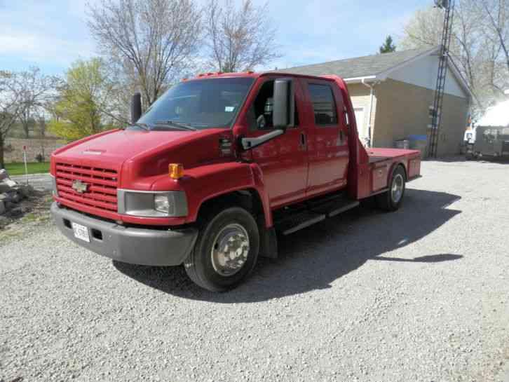 Chev Kodiak C4500 Truck with Western Hauler Package, Crew cab 4 door ...