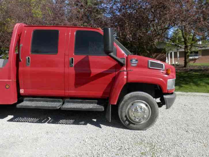 C4500 For Sale >> Chev Kodiak C4500 Truck with Western Hauler Package, Crew cab 4 door (2003) : Medium Trucks