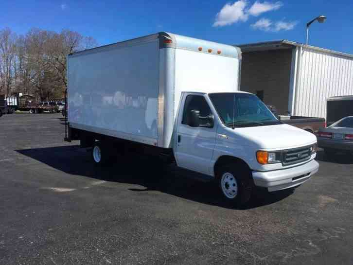 ford e 450 box truck 2003 van box trucks. Black Bedroom Furniture Sets. Home Design Ideas