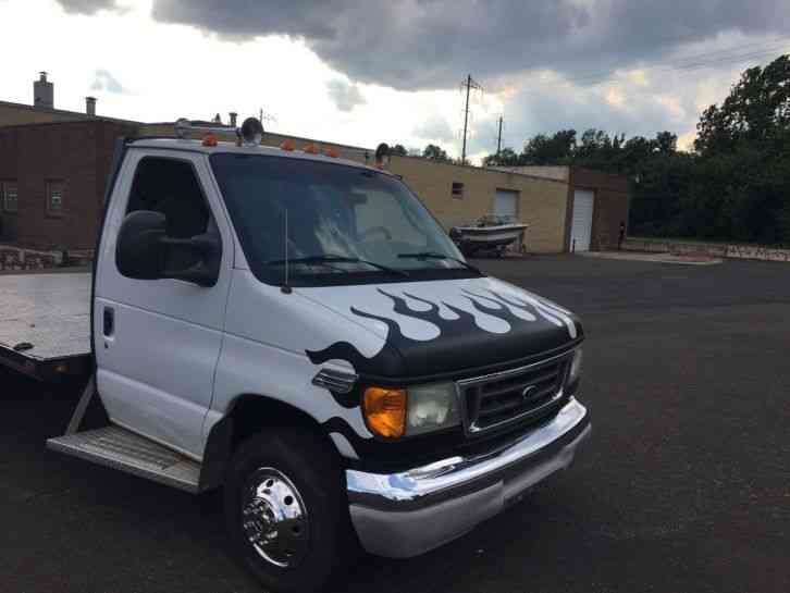 Flatbed Tow Truck >> FORD E-450 (2003) : Flatbeds & Rollbacks