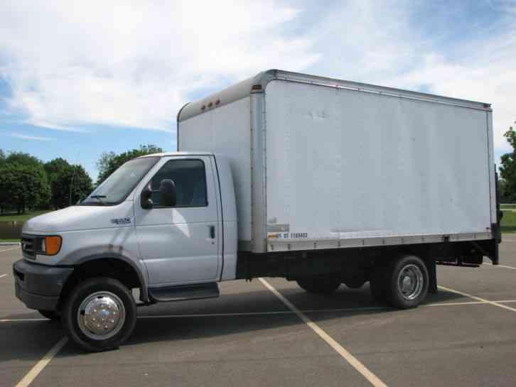 Ford Diesel Trucks For Sale >> Ford E550 (2003) : Van / Box Trucks