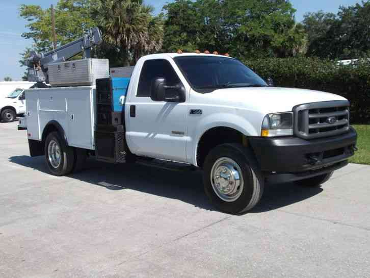 Ford f 550 2003 utility service trucks for Ford motor company truck division