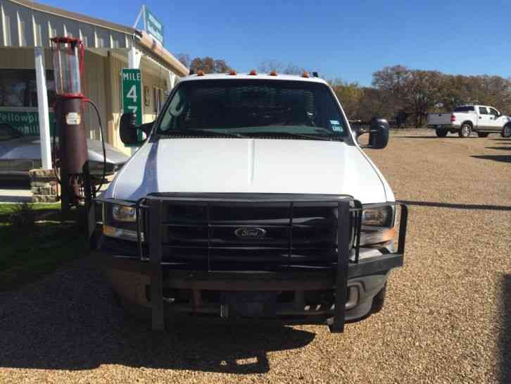 Ford F Flat Bed With Welder on 2000 Ford F450 For Sales