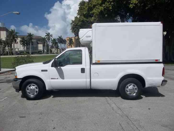 Ford F350 FREEZER (CARRIER) DIESEL SUPERDUTY FLORIDA (2003)